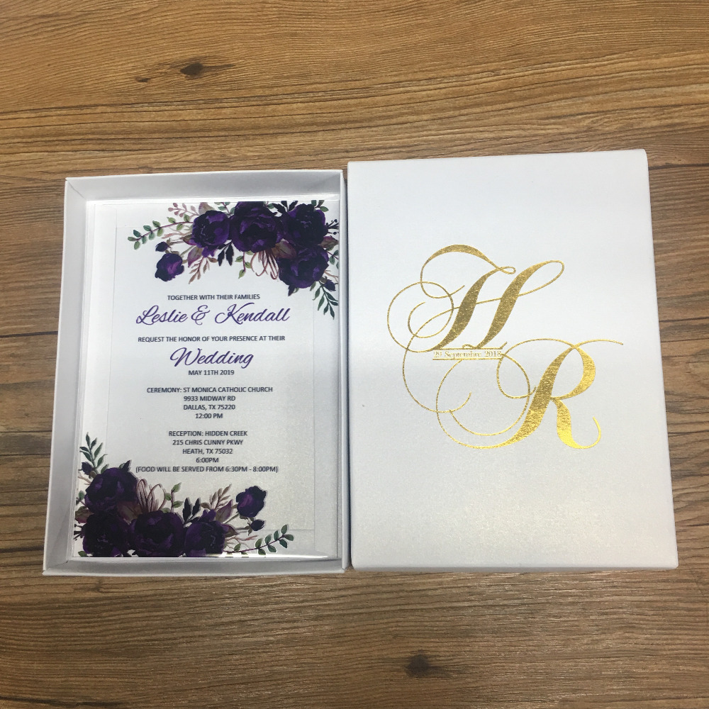 High quality hot sell royal wedding invitation card european style lace  invitations elegant romantic purple color|Cards & Invitations| - AliExpress