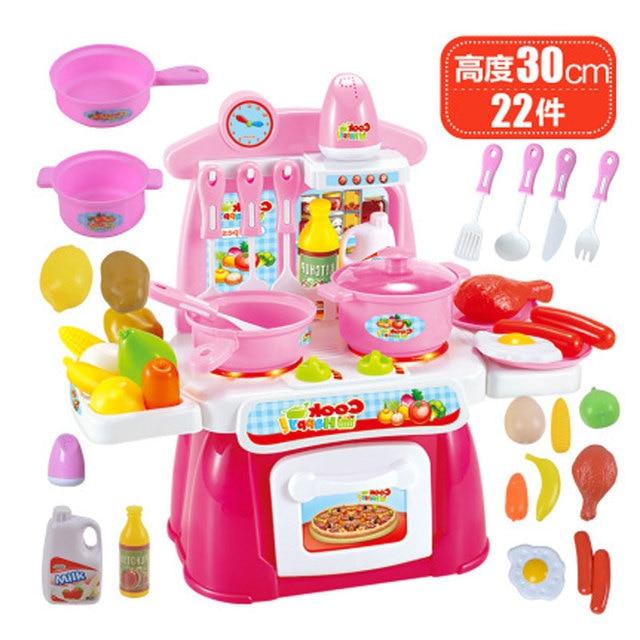 22 pz finta giocattolo di plastica bambino cucina play set per ...
