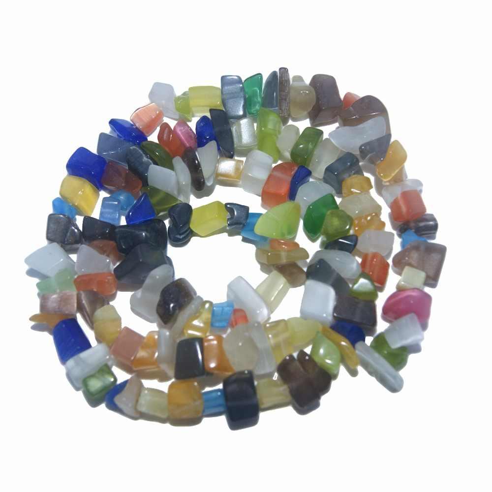Натуральный камень 5-8 мм неправильной формы чипа свободной формы бисера розовый кварц аметисты Агаты лазурит для самостоятельного изготовления ювелирных изделий браслет