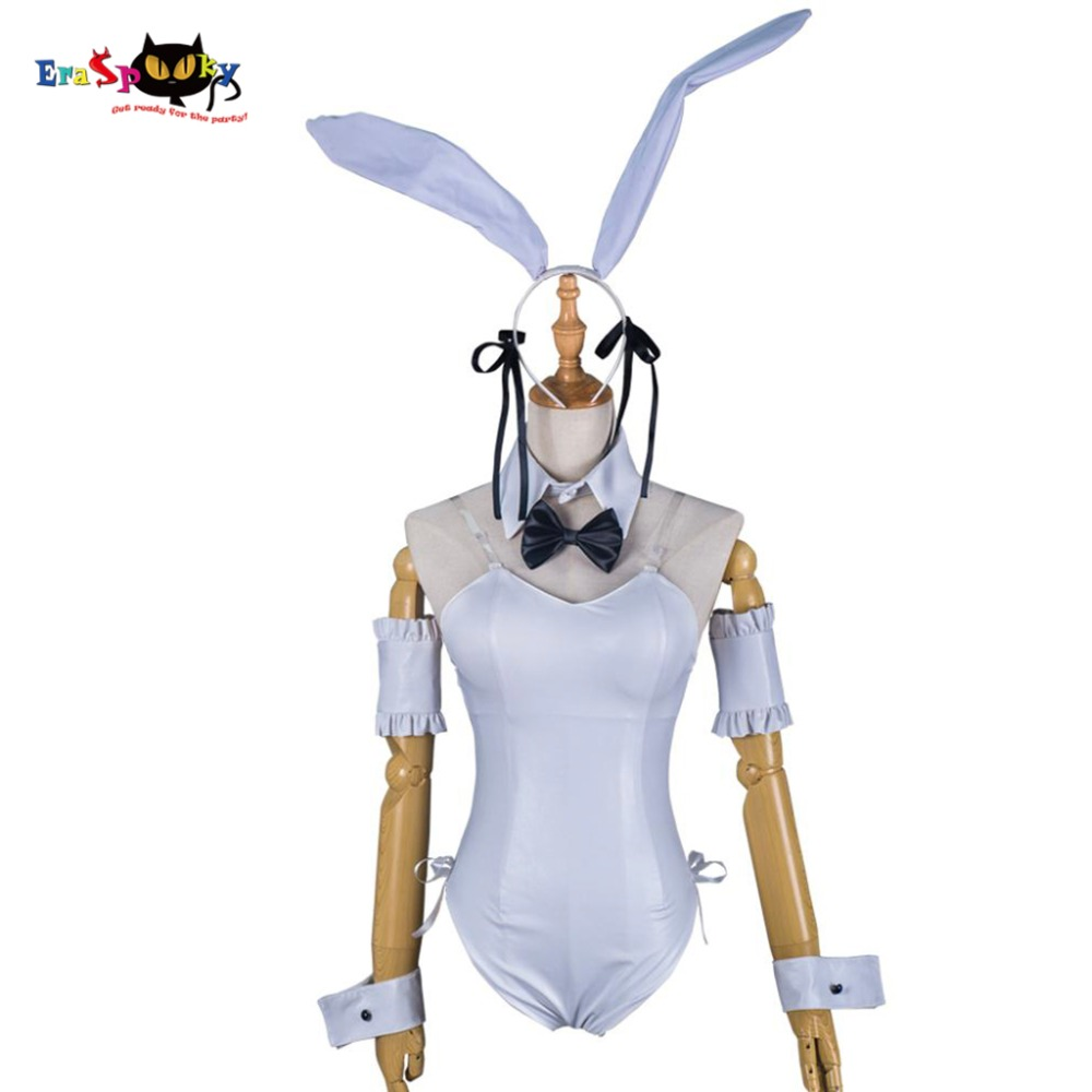 Yosuga No Sora Cosplay Kasugano Sora Japanese Anime Women Fancy Costume Clothings Halloween White Bodysuit Jumpsuit Costume anime yosuga no sora sora kasugano 1 8 sexy pvc action figure collectible model toy 19cm sgfg233