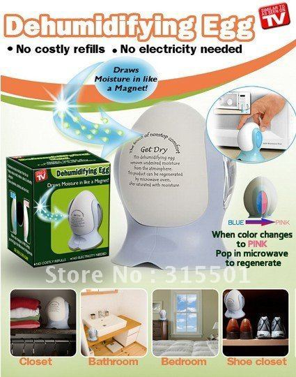 12pcs/lot Dehumidifying Eggs Dry The Air Make Air Dryer New Creation