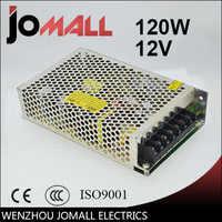 Envío Gratis Universal 12 V 10A 120 W fuente de alimentación de conmutación Control del transformador para la iluminación de la tira del LED