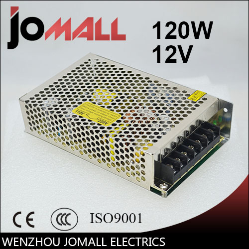 Free Shipping Universal 12V 10A 120W Switching Power Supply Driver Transformer Control for LED Strip Light Lighting professional switching power supply 120w 12v 10a manufacturer 120w 12v power supply transformer