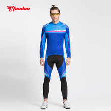 Tasdan New Cycling Wear Clothes Mens Jersey Sets Breathable Quick Dry Mountain Bike Sports wear