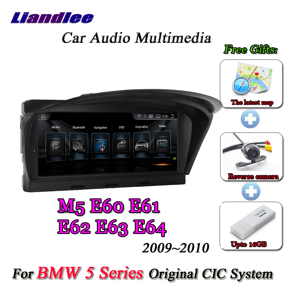 Liandlee For BMW 5 Series E60 E61 E62 E63 2009~2010 Android Original CIC System Radio Idrive Wifi GPS Navi Navigation Multimedia-in Car Multimedia Player from Automobiles & Motorcycles    2