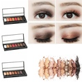 Hot 8 Colors Pro Nake Frosted palette Eye Shadow Palette Glitter Eyeshadow Makeup 6 Types New