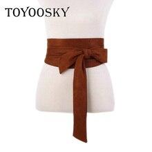 New Arrive High Quality DIY Bowknot European Corduroy Wide Waist Anomaly  Belt cummerbunds Women Fashion Dress Shirt Blouse