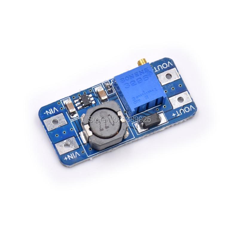 20pcs/lot MT3608 2A Max DC-DC Step Up Power Module Booster Power Module For Ar-du-ino 3-5V To 5V/9V/12V/24V
