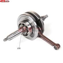 155z Engine crankshaft Zongshen ZS 150cc 160cc parts For Kayo 150 155 Dirt Pit Bikes 17T