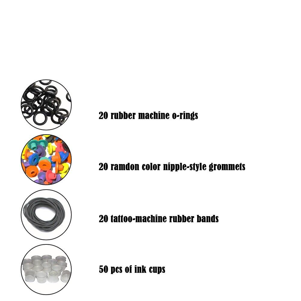Complete Tattoo Kit Professional Beginner Machine Set Tattoo Gun Pigment Induction Tattoo Power Supply Set