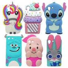 For Sony Xperia M5 Phone Cases Cute Cartoon Stitch Minnie Rabbit Unicorn Soft Silicone Protective Skin Cover Capa For Xperia M5 sony xperia m5 black