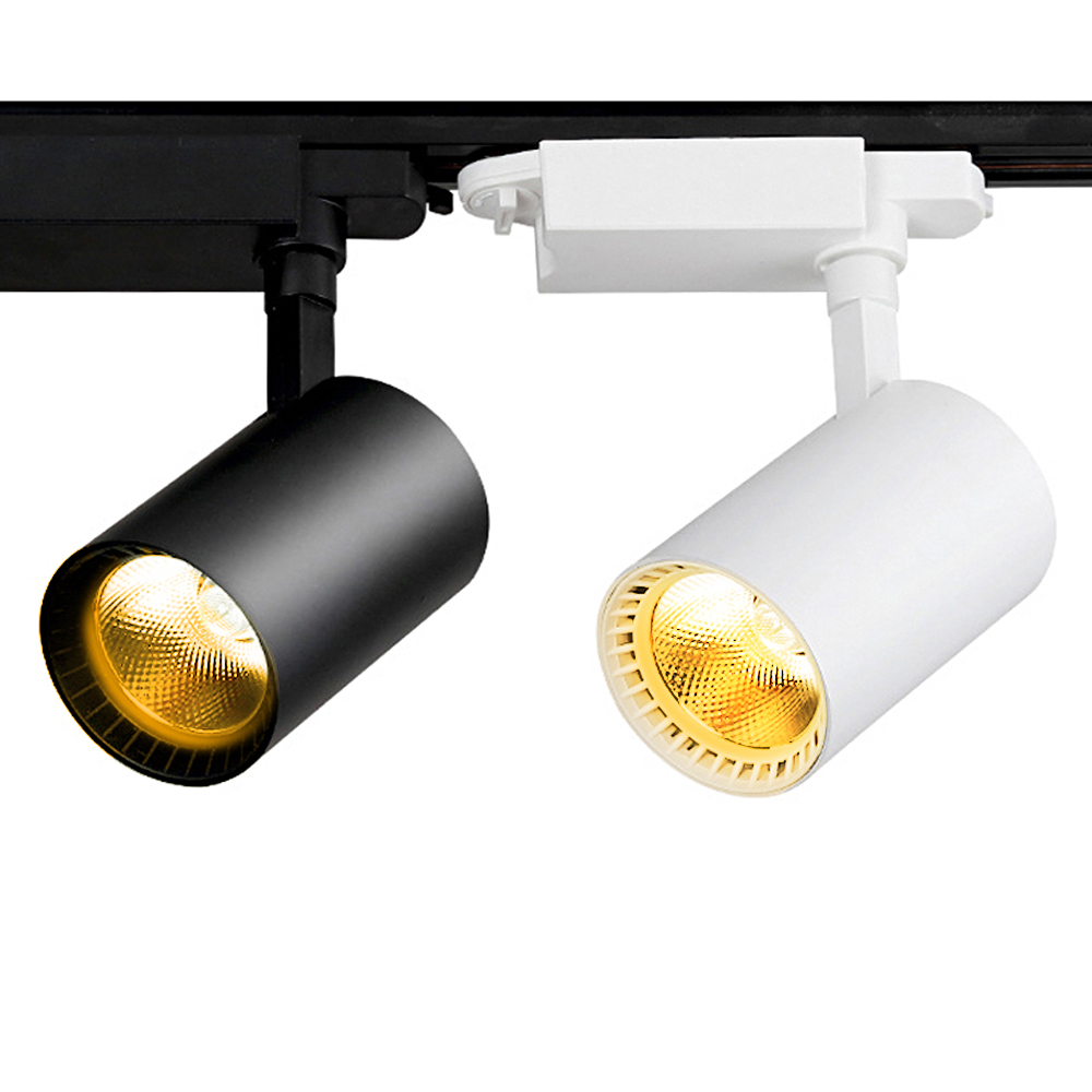 Commercial Retail Light Fixtures: High Power LED Track Light 7W / 15W / 20W / 30W Rail