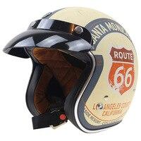 Harley Style Lucky 13 design Motorbike Helmet TORC 3/4 chopper helmet 3 pin with visor DOT approved USA style motorcycl helmet