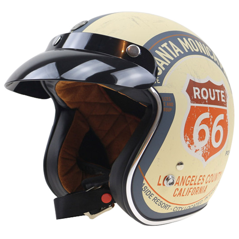 Harley Style Lucky 13 design Motorbike Helmet TORC 3/4 chopper helmet 3 pin with visor DOT approved USA style motorcycl helmet free shipping ce hecc csa approved new design ice hockey helmet hockey sport helmet with mask for adlut