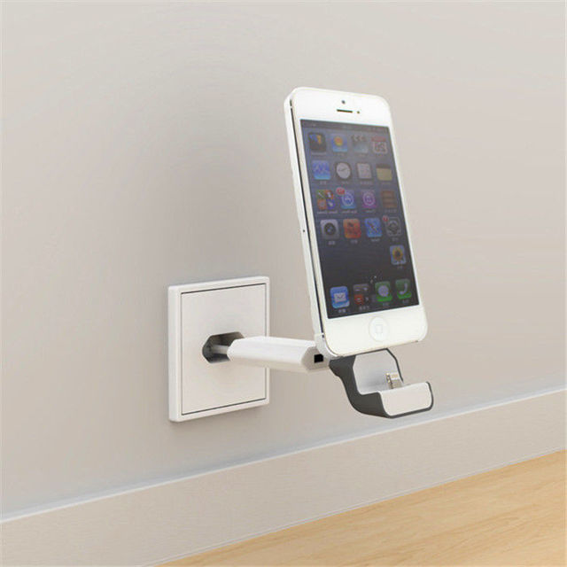 LYBALL Wireless Wall Charger Europe Dock USB Travel Adapter 8Pin Charging Station Stand EU Plug For iPhone 6S 7 8 Plus XR XS MAX