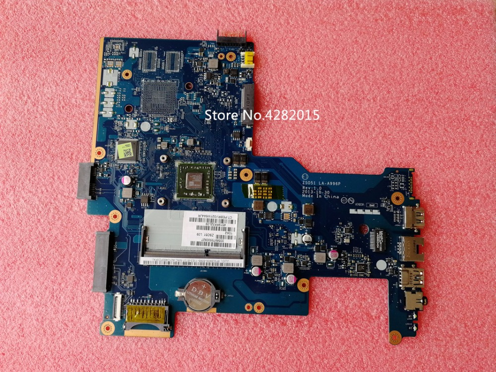 ZS051 LA A996P Free Shipping for HP 15 G 750634 001 750634 501 Laptop motherboard DDR3