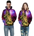 Weed Hoodies Women/Men 3D  Sweatshirts Coral Weed Galaxy Sweatshirt Hoodies Street Wear Hip Hop Casual Coat Tops Weed Hoodie
