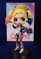 Anime Suicide Squad Original Banpresto Q Posket Prince Collection Figure HARLEY QUINN Specail Color Ver