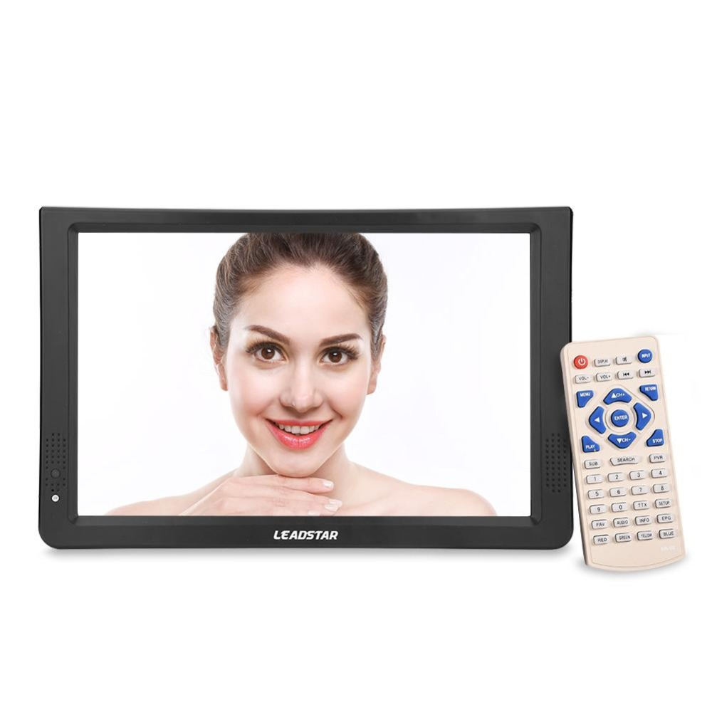 11,6 zoll Portable Digital Analog Fernsehen DVB-T/T2 1280*800 Auflösung HD PAL 1080 p LED TV für hause Auto Flugzeug