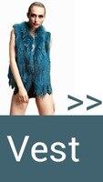 новый натурального меха кролика длинные капюшоном жилет с енотовидная собака меховой воротник жилет/жиле пальто/бесплатная доставка qdmj004