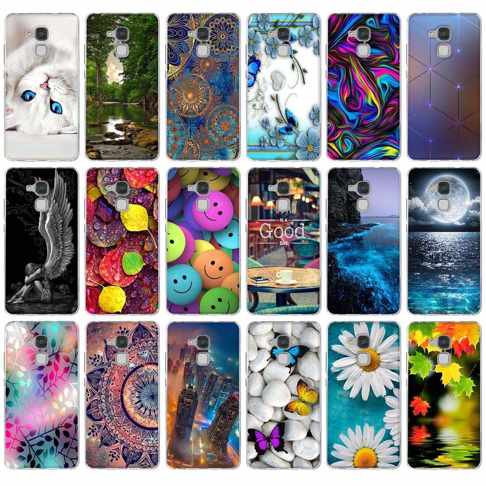 Soft Silicone Case For Huawei Honor 5C/Honor 7 Lite (5.2 Inch) Phone Cover Paint Case For Huawei Honor 7 Lite Honor 5 C GT3 Bags