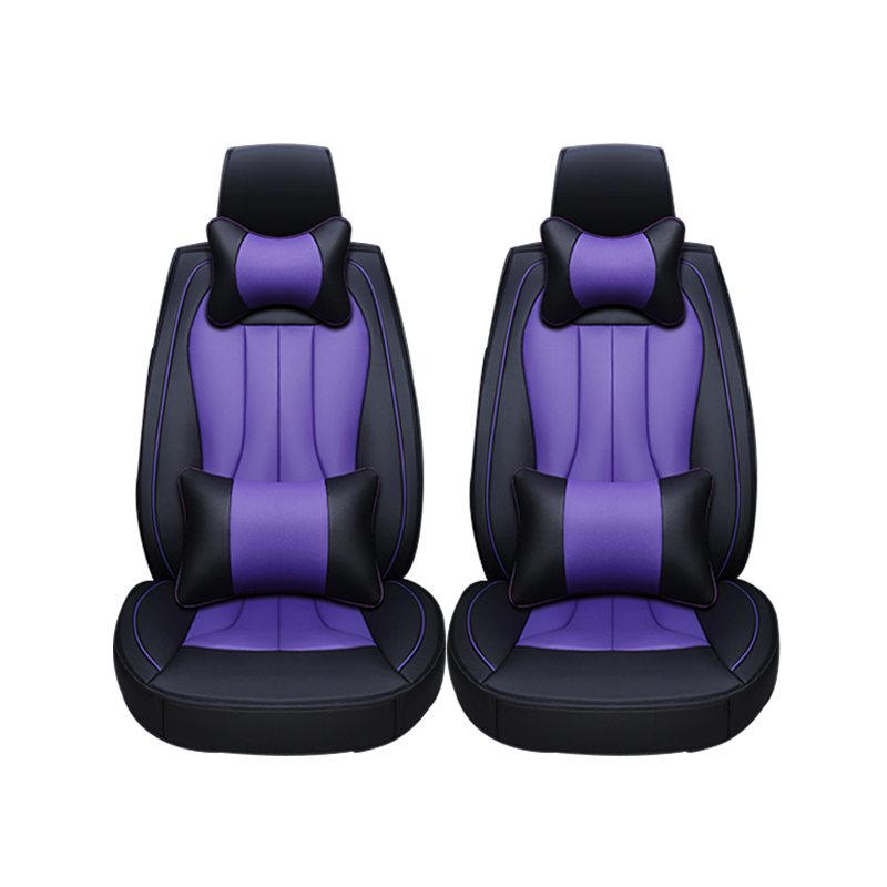 2 pcs Leather car seat covers For Mitsubishi Lancer Outlander Pajero Eclipse Zinger Verada asx I200 car accessories styling newest car wifi hidden dvr for mitsubishi outlander asx lancer pajero with original style app share video sony sensor