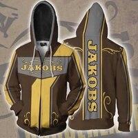 assassin Zer0 Sweatshirts Siren Maya Cosplay Borderlands 2 Costumes 3D printed fashion men and women hooded zippered jacket