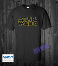 New Star Wars TM Logo T-Shirt Mens Size S-XXL USA Free shipping Harajuku Tops Fashion Classic Unique