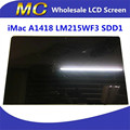 "Envío gratuito de Alta Calidad Nuevo SD D1 LM215WF3 Para iMac 21.5 ""Pantalla LCD con la Asamblea de Cristal A1418 2012 2 K"