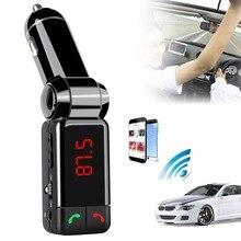 Автомобиль MP3 аудио плеер Bluetooth fm-передатчик Беспроводной fm-модулятор автомобильный комплект громкой связи ЖК-дисплей Дисплей USB Зарядное устройство для всех мобильных
