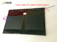 Free Shipping Cube Tablet PC Talk9x U65gt Battery 28 130 188 3 7V 10000 Mah Li