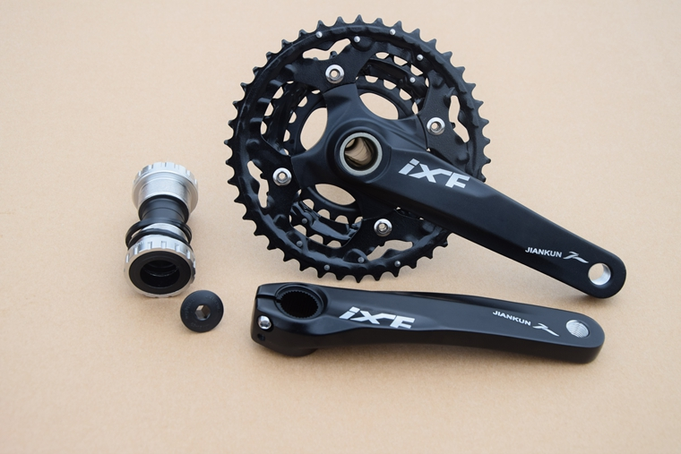3*10S Mountain Bike Alloy Crank 24-32-42T 170mm MTB Bicycle Crankset Bicycle Crankset mtb mountain bike crankset bicycle crank set chain wheel 22 32 42t single speed fixed gear fixie bike crankset