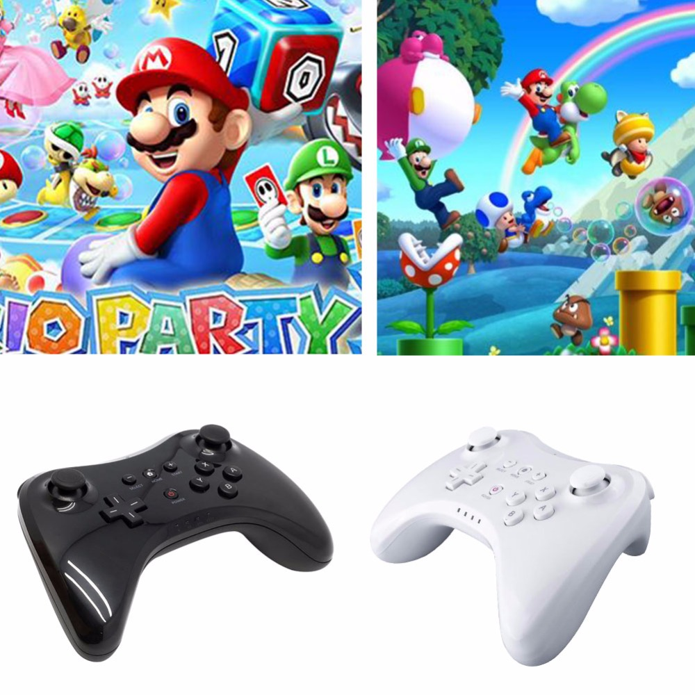 New Arrival Bluetooth Double Analog Classic Wireless Gamepad Game Console Gaming Controller For Nintendo for Wii