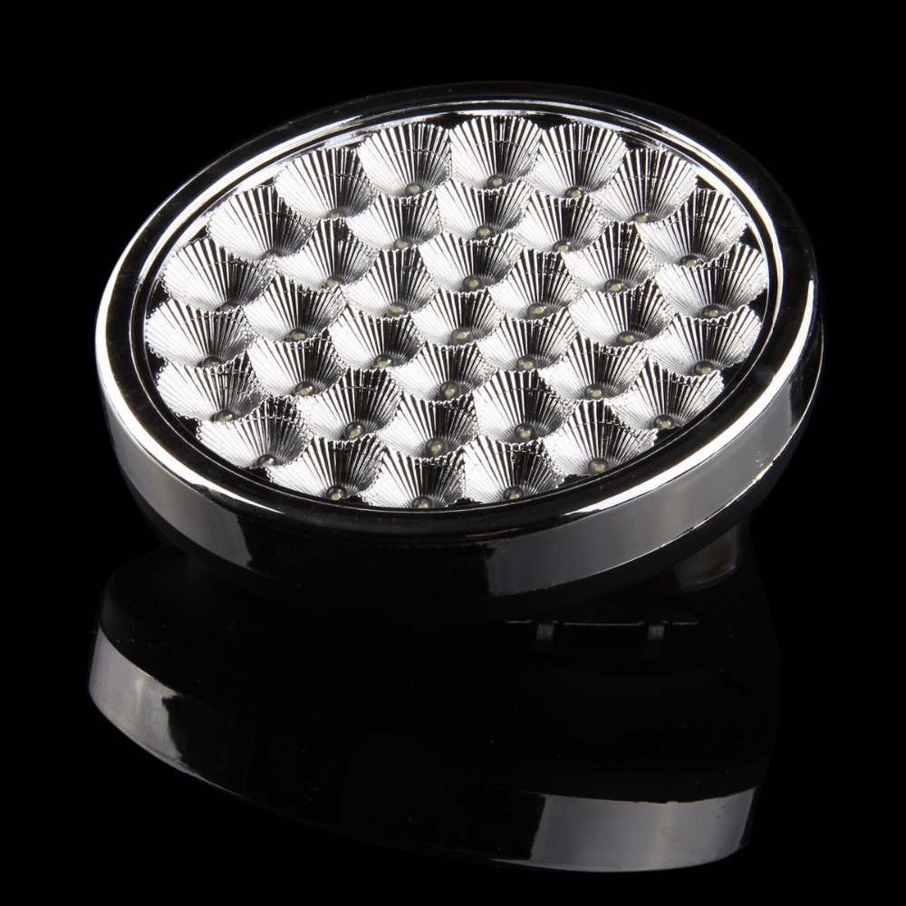 possbay new hot 37 smd gt691 5w led abs car ceiling dome roof interior atmosphere light lamp on. Black Bedroom Furniture Sets. Home Design Ideas