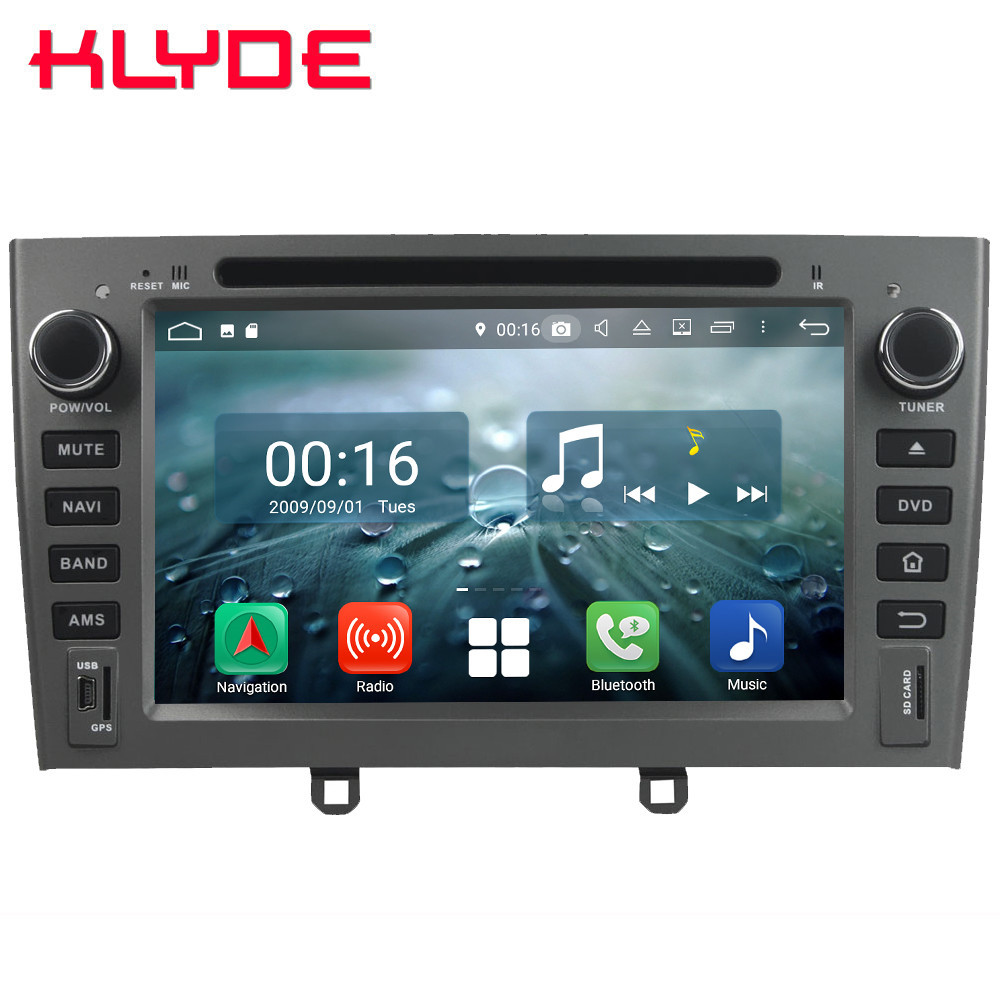 7 Octa Core 4G Android 8.1 4GB RAM 64GB ROM RDS BT Car DVD Multimedia Player Radio Stereo For Peugeot 408 308 308SW 2007-2011