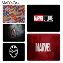 MaiYaCa  Marvel Comics logo Customized laptop Gaming mouse pad Size for 25X29cm Mousepads