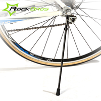 ROCKBROS 26/29 MTB Mountain Bicycle Kickstand Quick Release Carbon Fiber / Stainless Steel Side Cycling Kick Stand for Bike