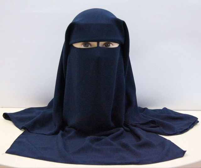 Image 3 - HOT LONG MUSLIM MASK ISLAMIC VEIL niqabveil longveil islamveil mask