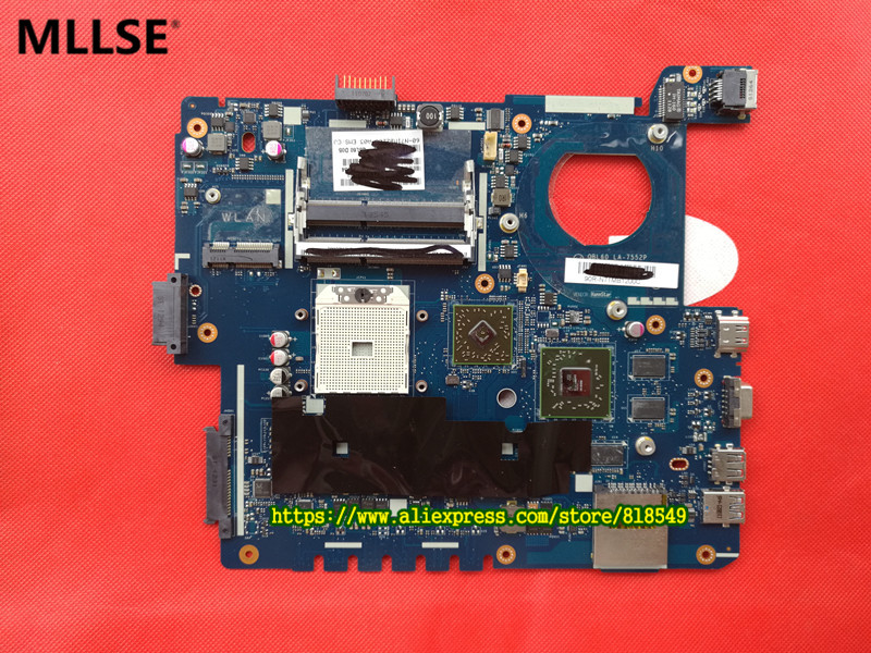 Original System board Fit For ASUS K53TA K53TK X53T K53T Laptop motherboard LA-7552P 100% Tested & working wel 574680 001 1gb system board fit hp pavilion dv7 3089nr dv7 3000 series notebook pc motherboard 100% working