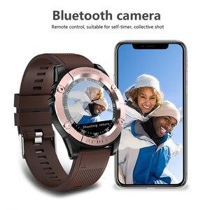 Image 5 - Relógio inteligente homem esporte adulto à prova dwaterproof água relógio inteligente android suporte cartão sim tf crad pedômetro câmera bluetooth smartwatch