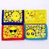 11 8 18cm 12pcs Cartoon Smile Emoji Mini Coin Purse Candy Money Bag Wallet Kid Birthday