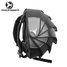 ROCK BIKER Pangolin Motorcycle Backpack font b Helmet b font Bags Hard Waterproof Shell Motocross Backpack