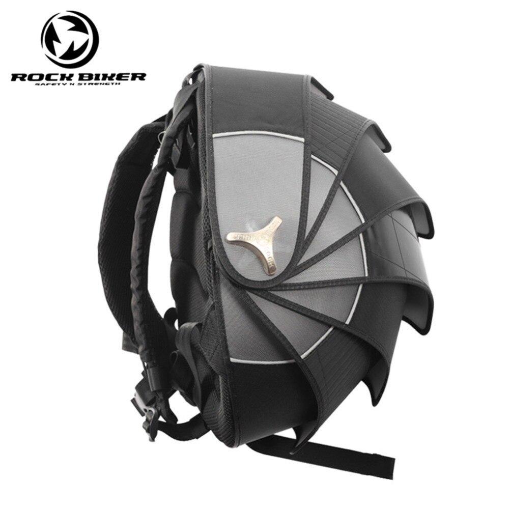 ROCK BIKER Pangolin moto sac à dos casque sacs dur étanche Shell Motocross sac à dos unisexe Top Case Motocicleta