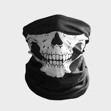 Tubular Skull Ghosts Ghost Mask Bandana Motor bike Sport Scarf Neck Warmer Winter Halloween For Motorcycle