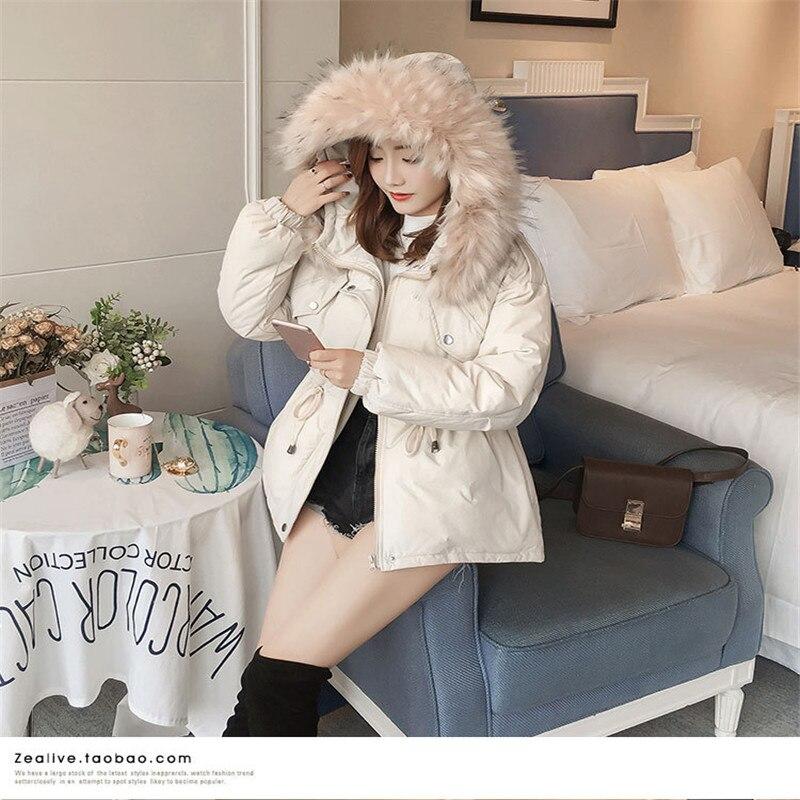 Vêtements Femmes À Épais Était Et 2018 Nouveau Court Coton Automne En Manteau Mince D'hiver Chaud Capuchon qAxwYXH