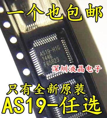 (50 pièces) (100 pièces) Haute qualité AS19 H1G AS19 H1 AS19 H AS19 QFP 48-in Prises et connecteurs from Electronique    1
