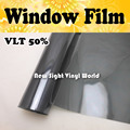 VLT 50% Window Film Car Window Tint Car Window Vinyl For Car Home Office Size:1.52*30m/Roll