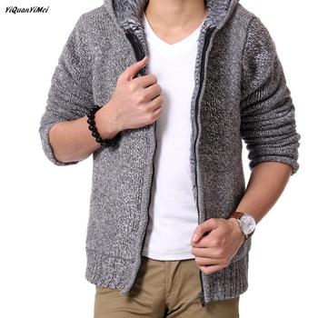 cd8aecb782f4 Suéter grueso de invierno para hombre, suéter de cachemira, suéter de  cuello alto, suéteres para ...