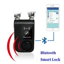 Smart Verrouillage Sans Clé Accueil Inscription avec Votre Smartphone IOS et Android Bluetooth Smart Accès Serrure pour vélo moto porte porte