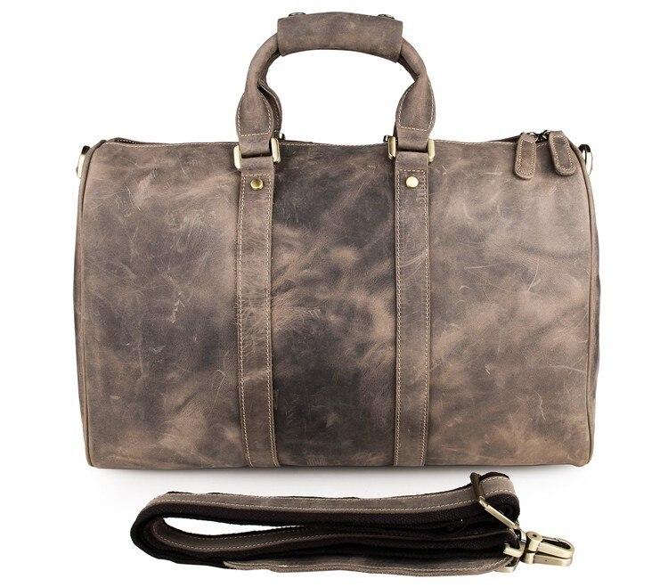 Heißer Grey Stil Leder Neuen Jmd Reisetasche Echtes Der Unisex Vintage Duffle 7077j Laptoptasche Mode Ausgezeichnete Aktentasche Verkauf Tasche Grau tUwq4